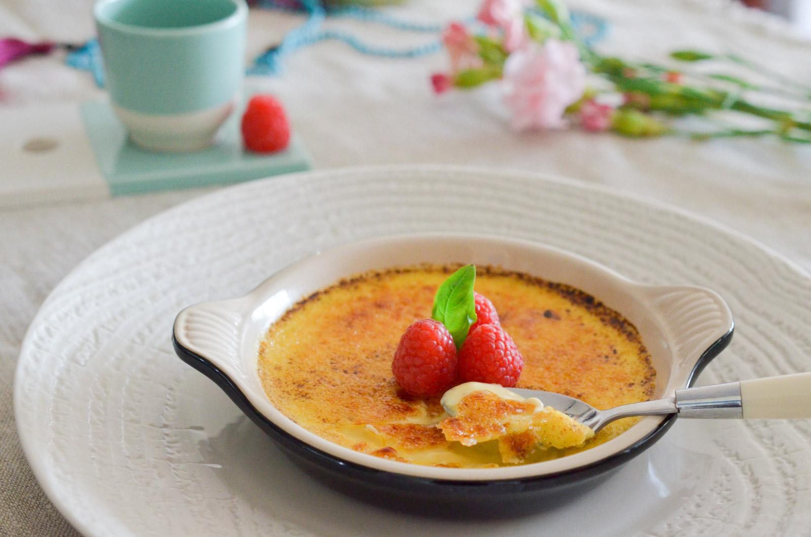 Crème Brulée Vanille Citron Framboise (10 Sur 11)