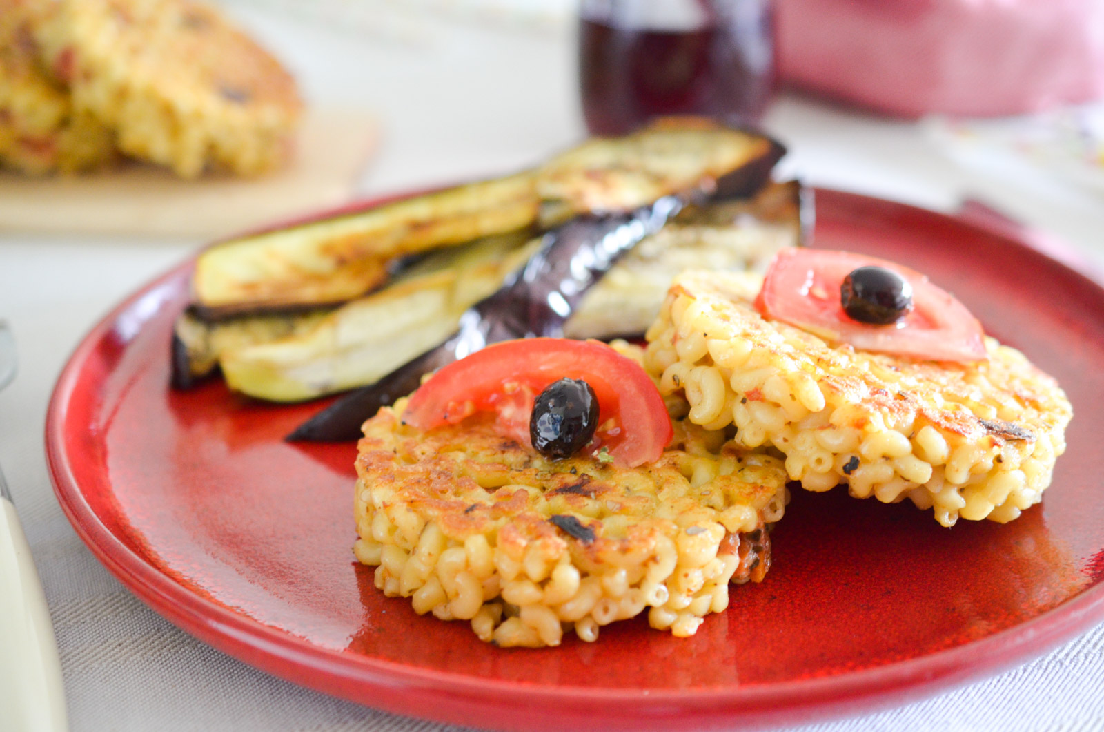Galettes Coquillettes Tomates Sechees Aubergines (8 Sur 11)