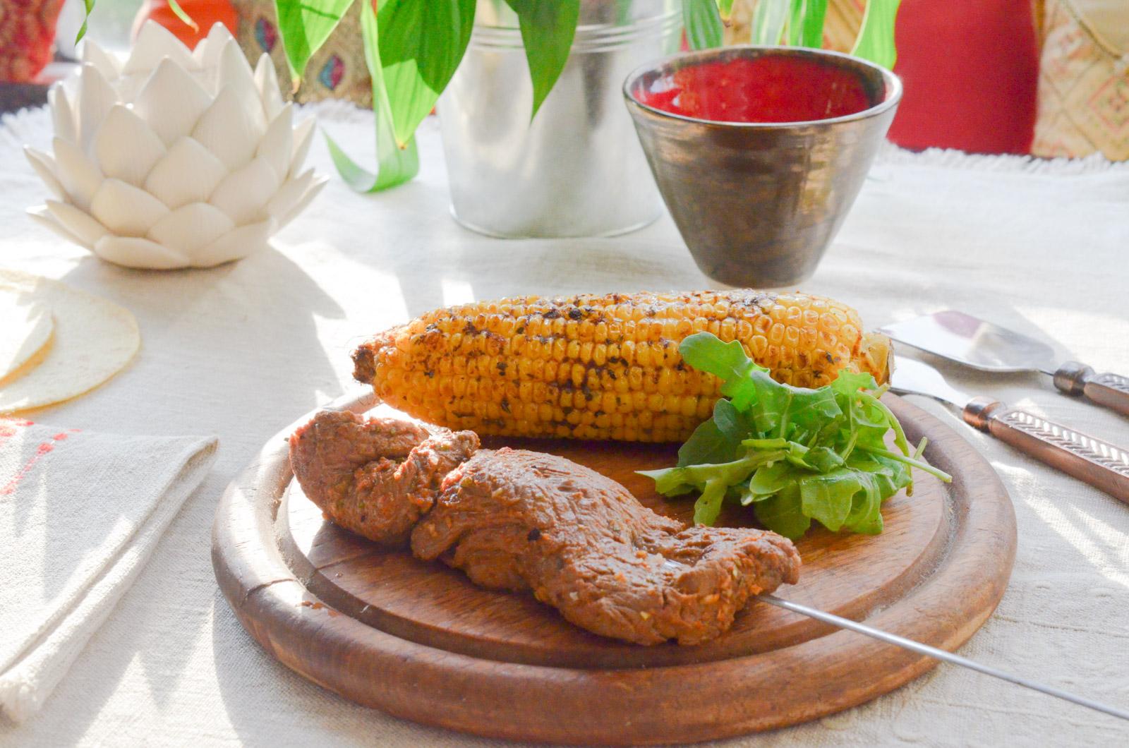 Churrasco Viande Mais Grilles 6 Sur 8