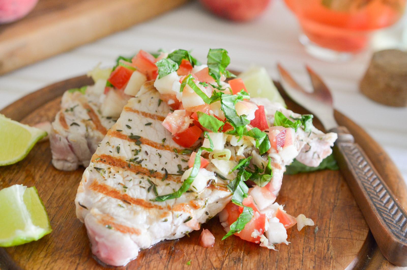 Cotes Porc Salsa Peches 6 Sur 11