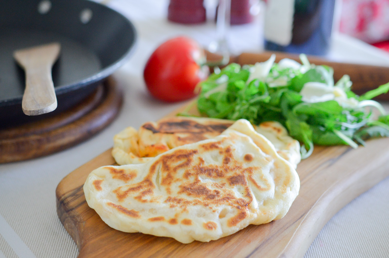 Gozleme Napolitaine Mozzarella Tomate Anchois (4 Sur 8)