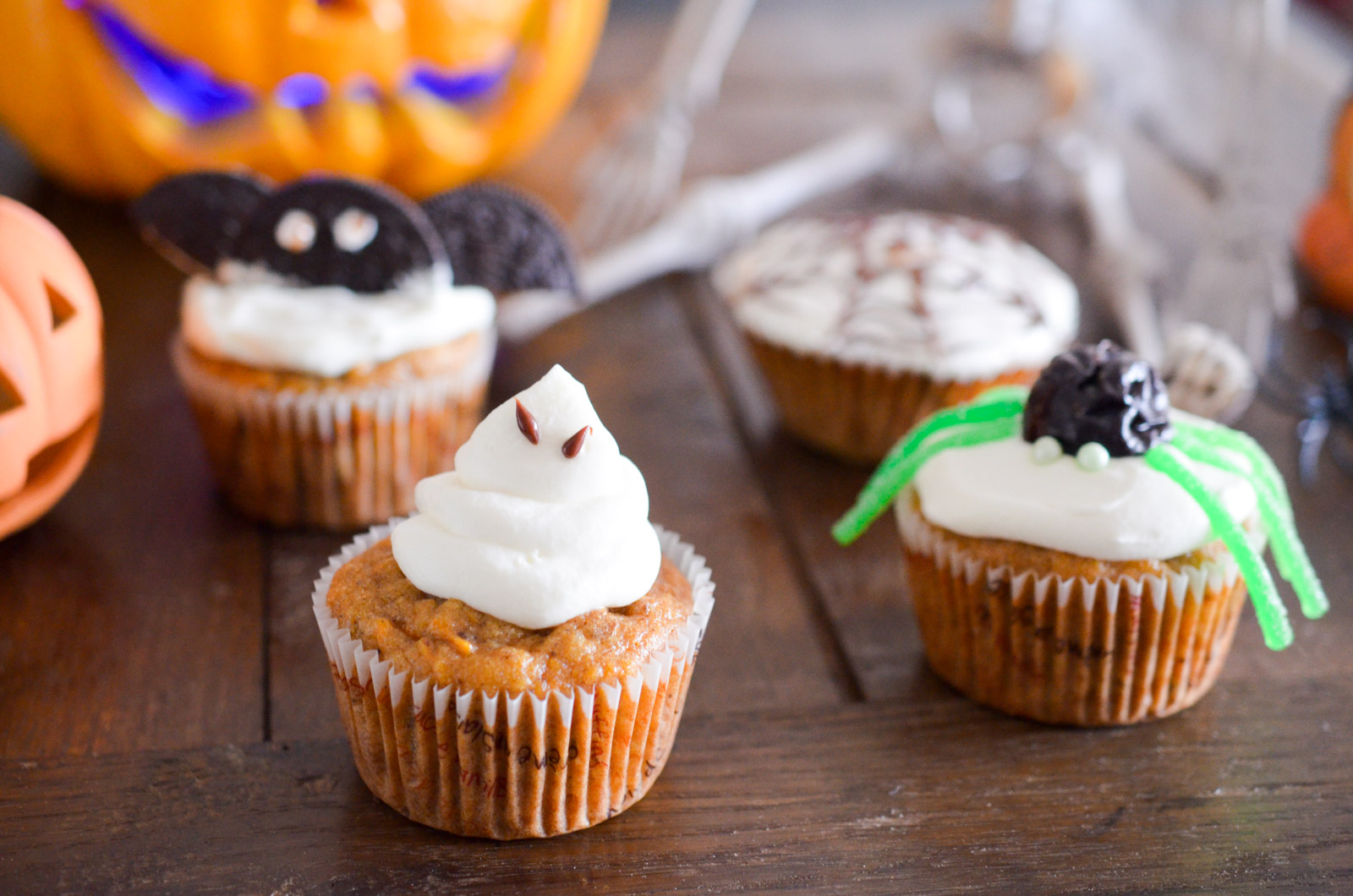 Halloween Carrotte Cupcake 6 Sur 24