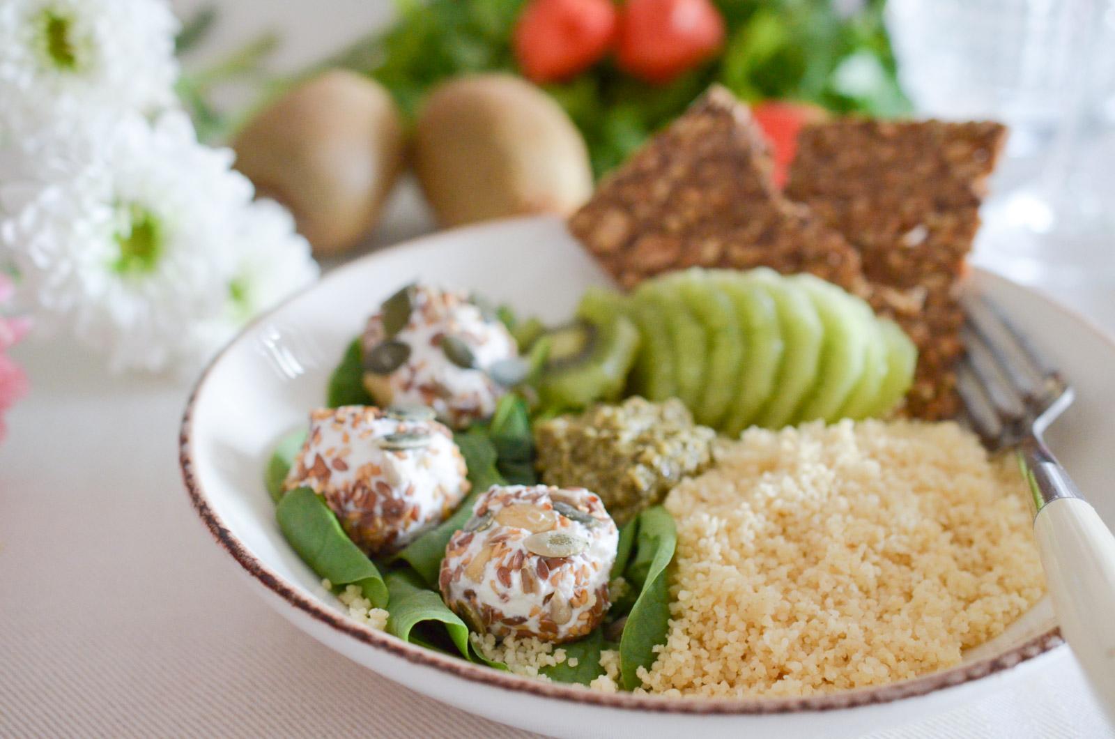 Salade Kiwi Chevre Pesto 1 Sur 6
