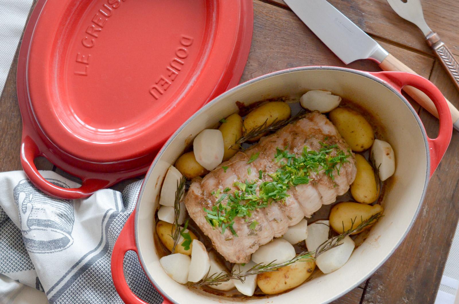 Roti Porc Balsamique Romarin Miel Doufeu 1 Sur 7