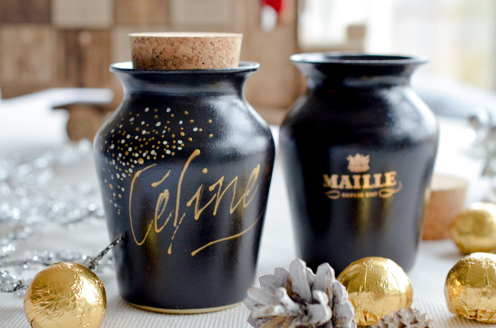 Maille Noel 2016 Calligraphie 1 Sur 2