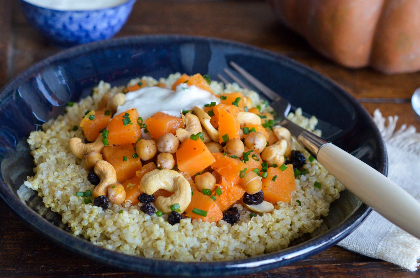 Quinoa Courge Pois Chiche Cajou 2 Sur 4