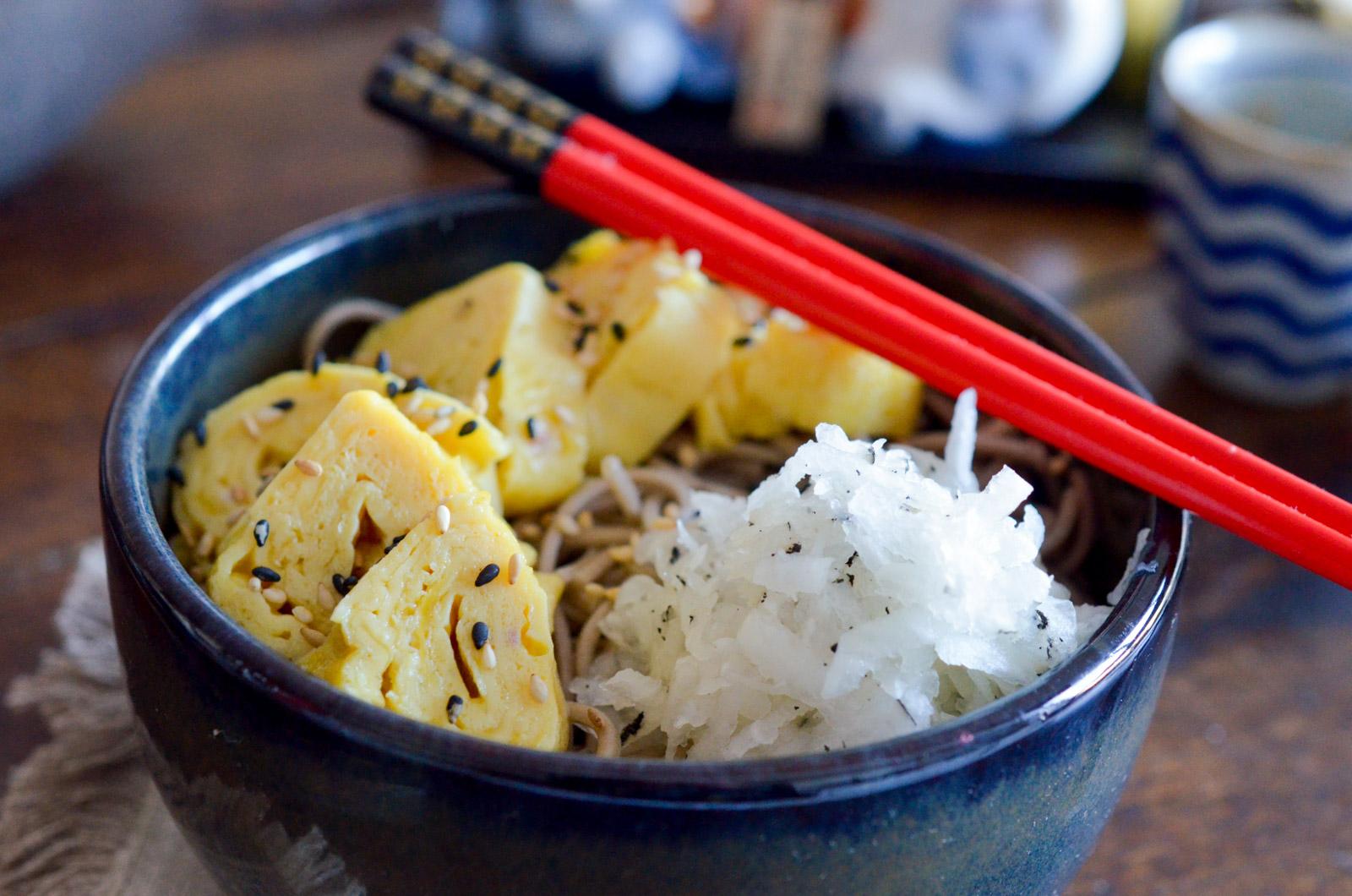 Omelette Roulee Japonaise (2 Sur 5)