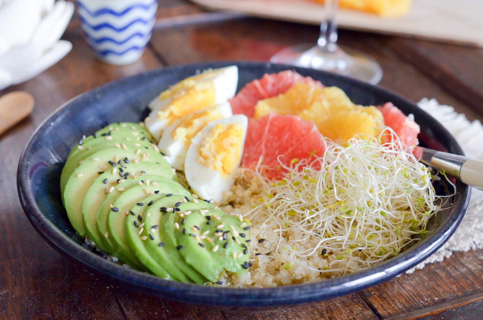 Quinoa Bowl Agrumes Sésame Avocat Alfalfa (7 Sur 7)