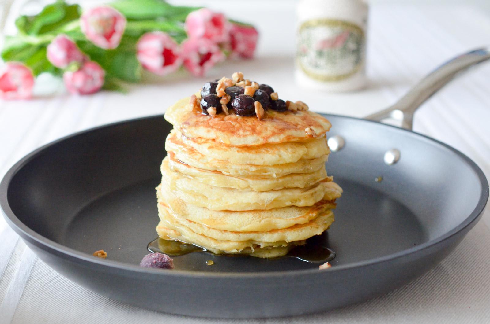 Pancakes Myrtilles Pecan Sirop Erable (2 Sur 4)
