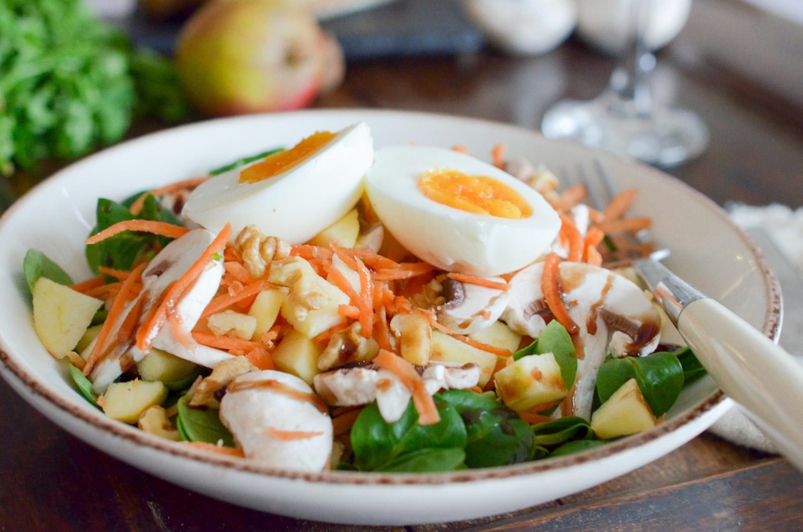 Salade Carottes Noix Champignons (4 Sur 6)