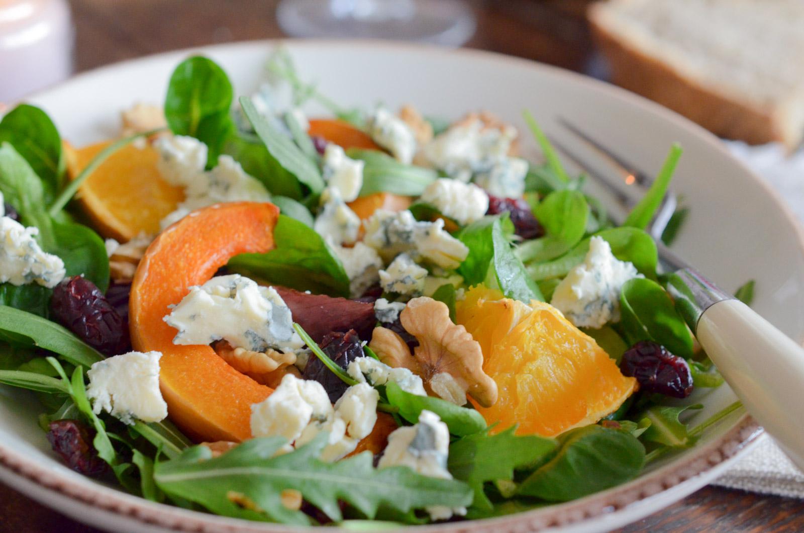 Salade Hiver Cranberries Fourme Ambert (4 Sur 4)