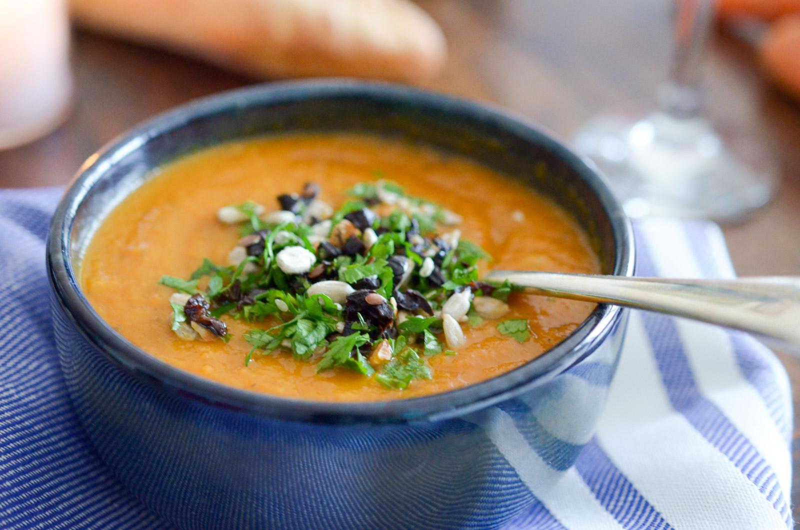 Soupe Carottes Olives Fenouil (6 Sur 6)