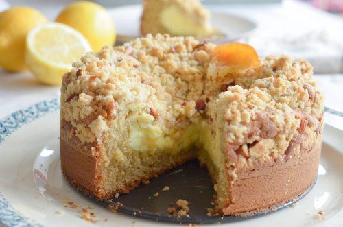 Crumb cake tout citron