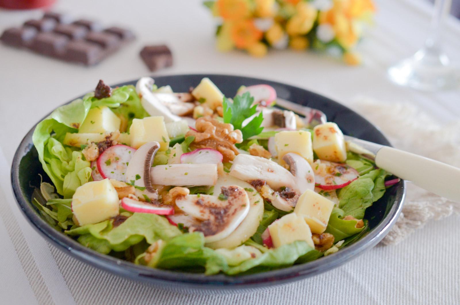 Salade Chef Vinaigrette Chocolat (5 Sur 8)