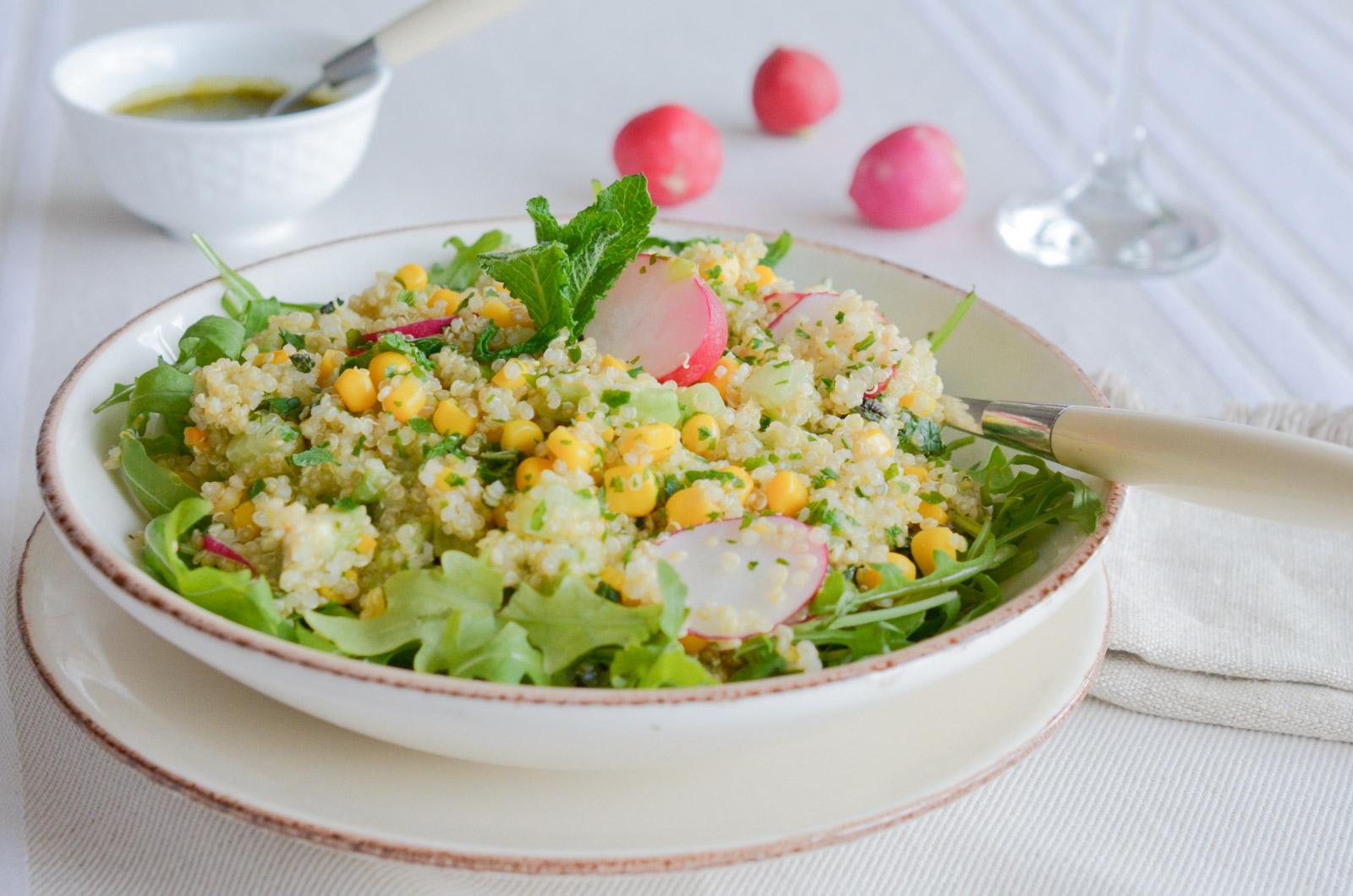 Salade Quinoa Pesto Citron (4 Sur 7)