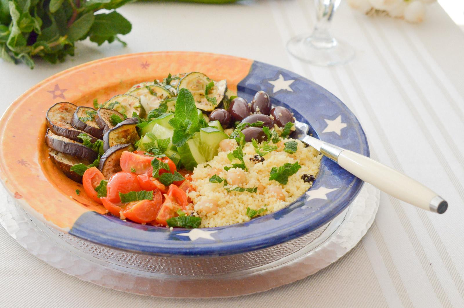 Bowl Marocain Legumes Grilles (3 Sur 9)