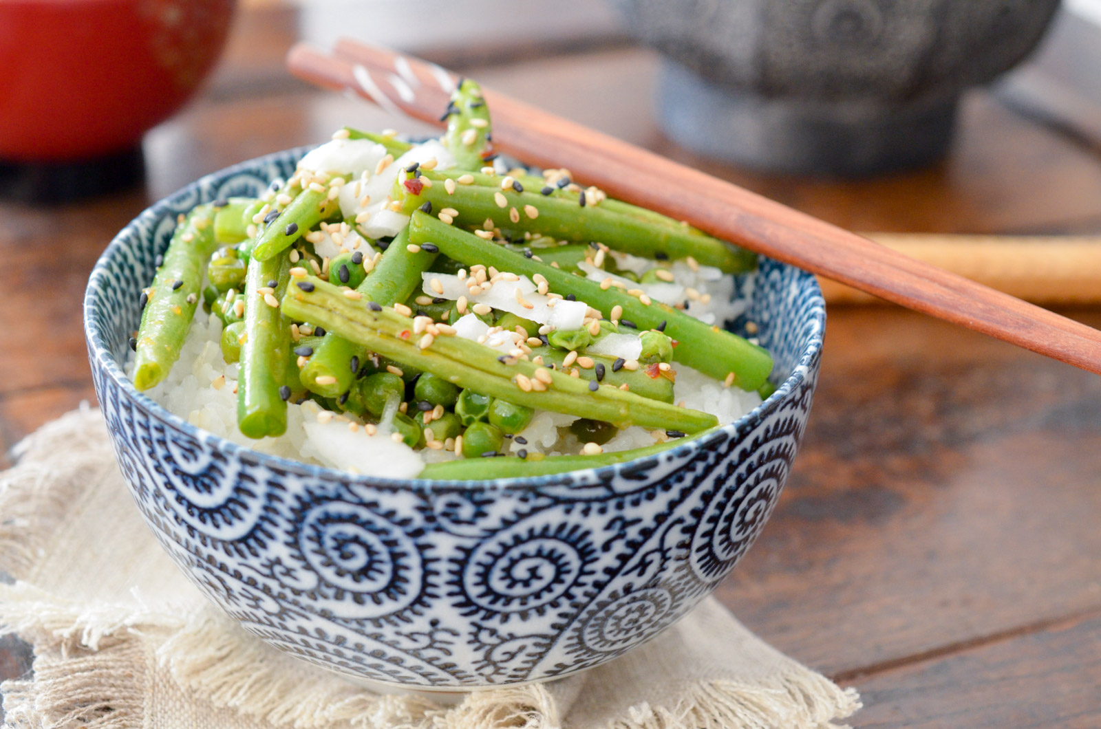 Haricots Verts Asian Style (2 Sur 7)