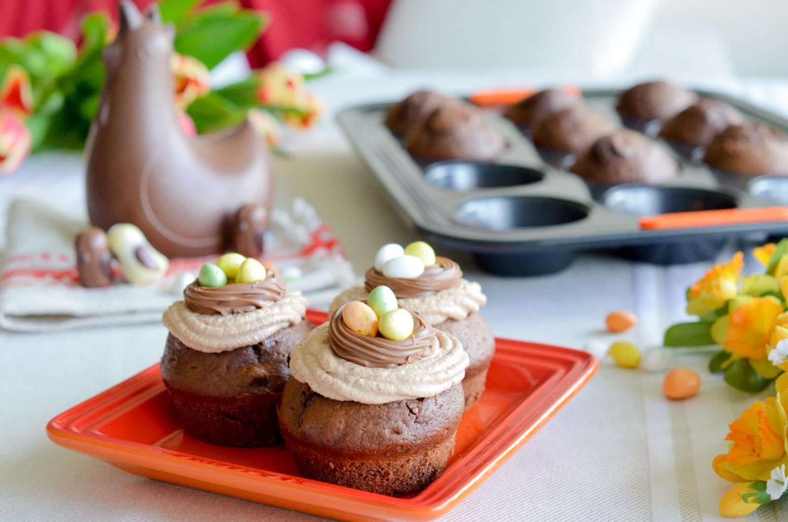 Muffins Tout Choco Praline Creuset Cluizel (4 Sur 10)