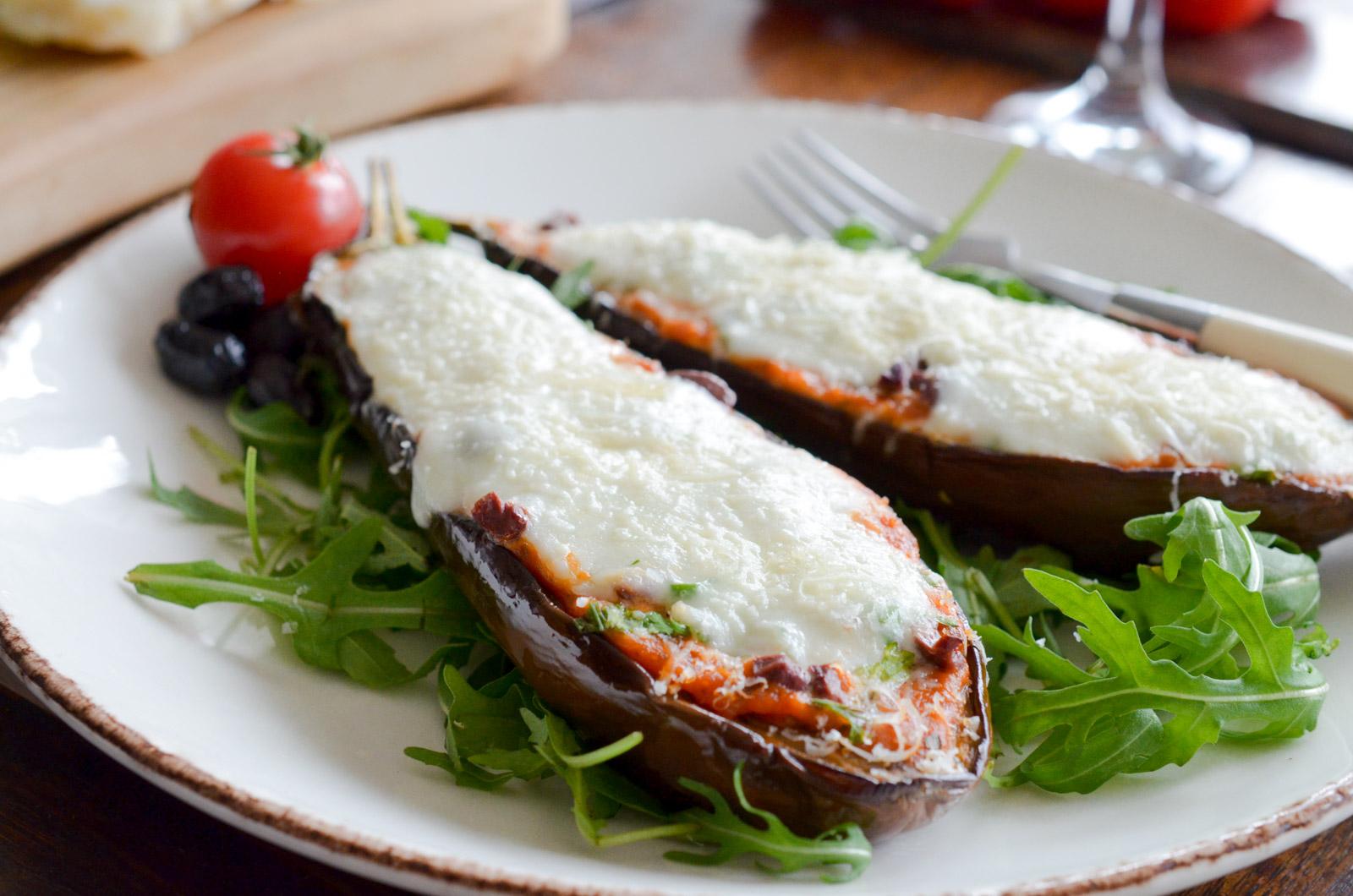 Pizza Aubergine Mozzarella (8 Sur 10)