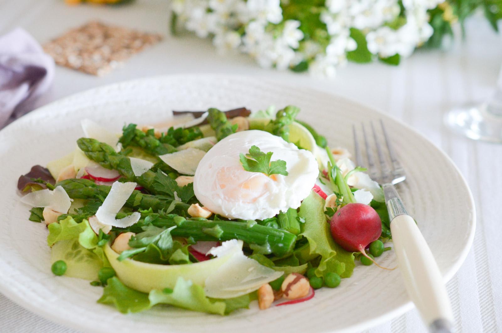 Salade Asperges Oeuf Poche (6 Sur 8)