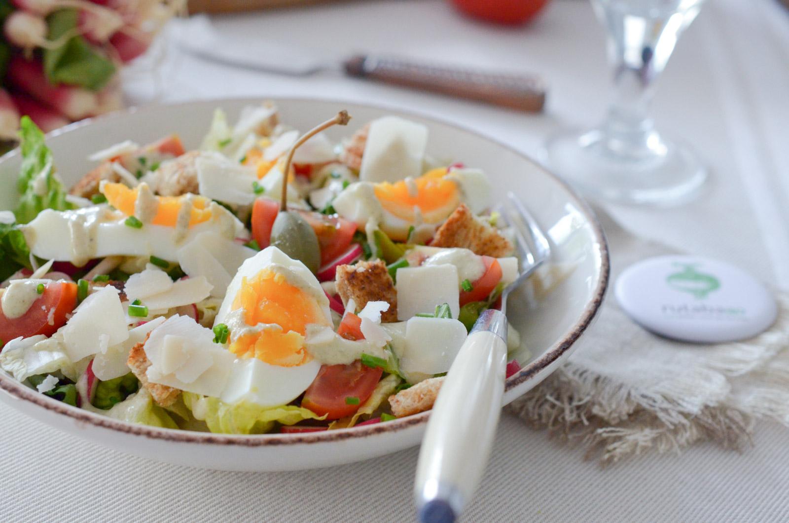 Salade Caesar Vegetarienne (4 Sur 8)