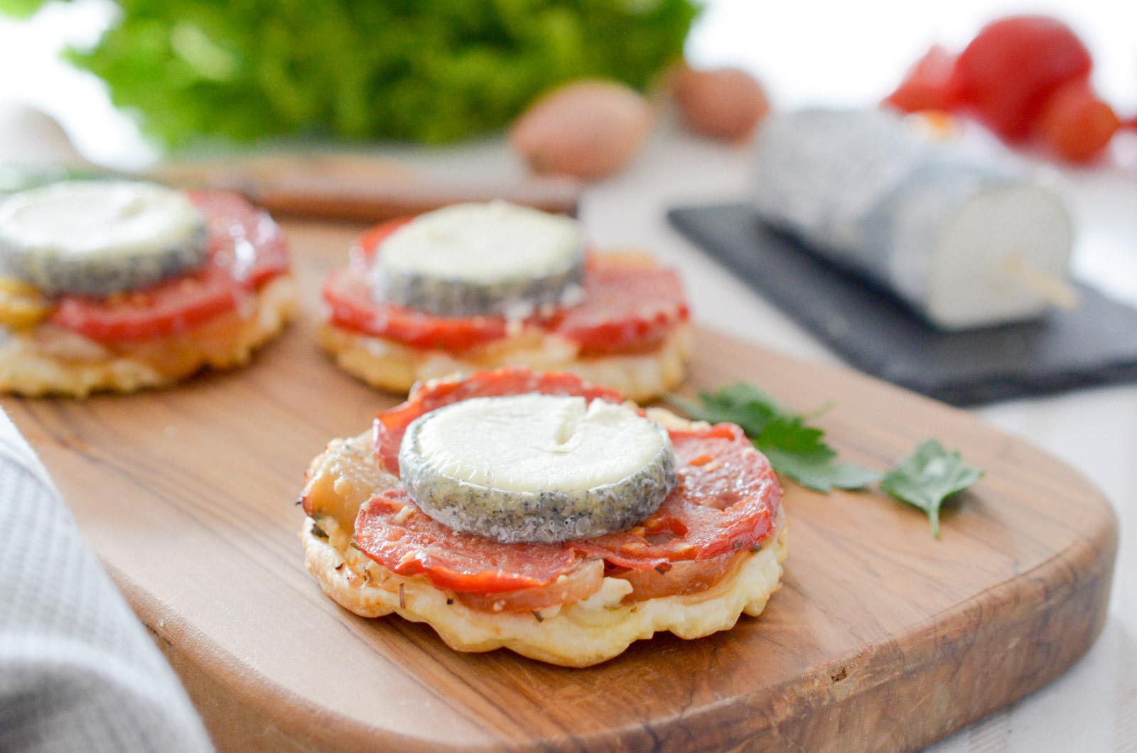 Tatin Chevre Tomate Oignon (4 Sur 7)