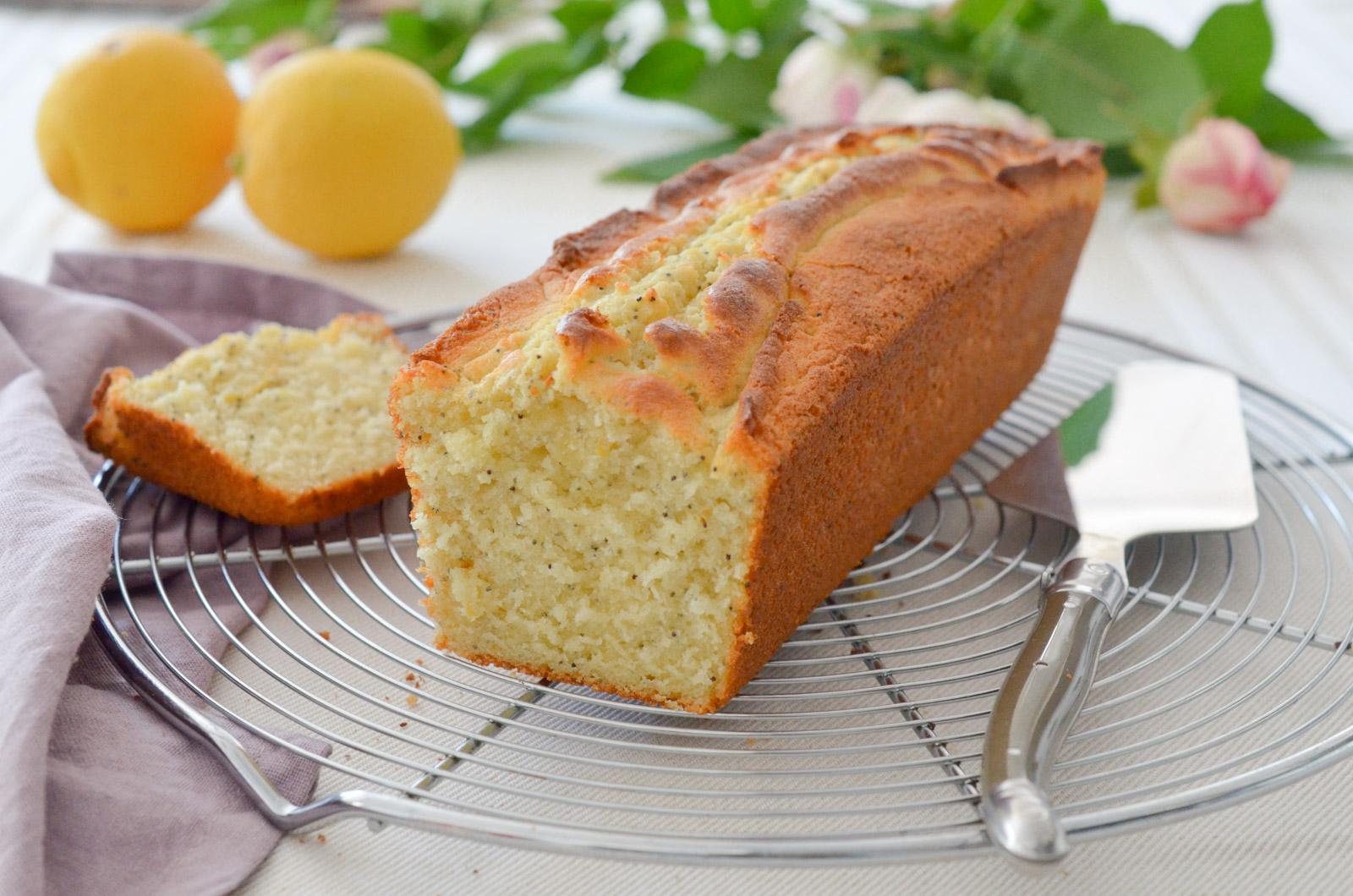 Cake Citron Pavot Moelleux (1 Sur 6)