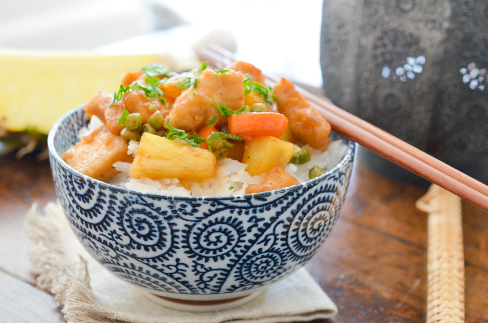 Poulet Sweet And Sour Ananas (6 Sur 6)