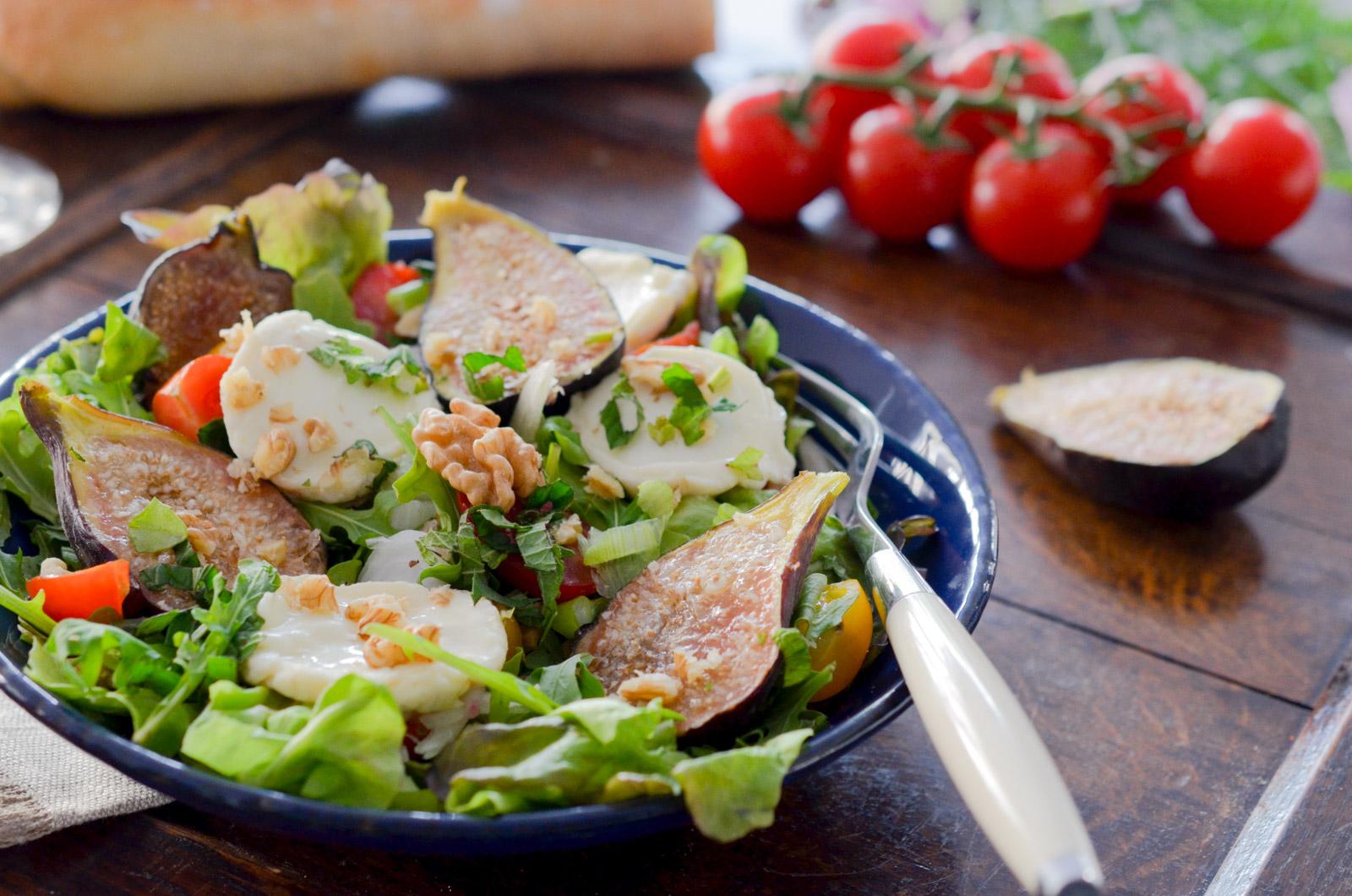Salade Figue Chevre (6 Sur 7)