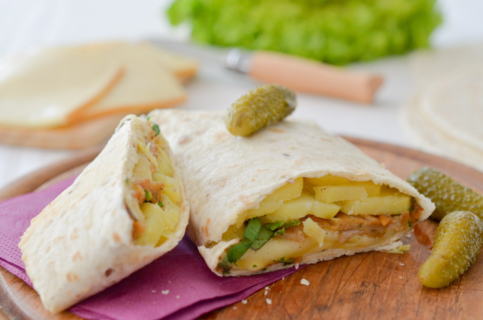 Tacos de kebab façon raclette