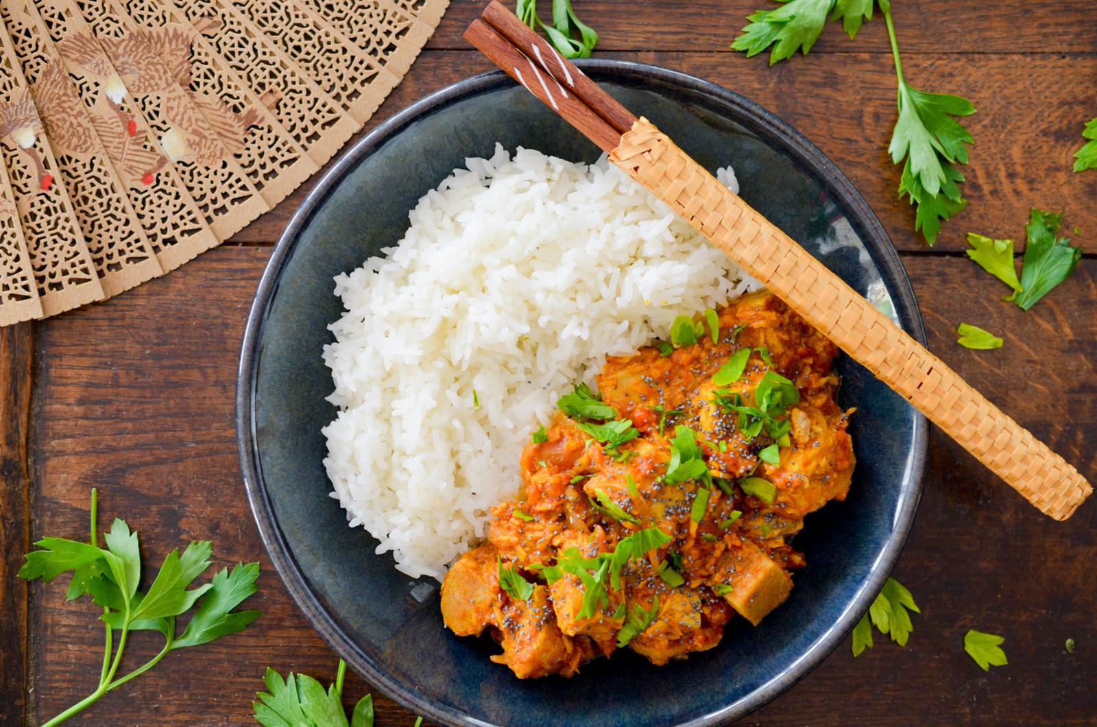 Curry de poisson à l'indienne