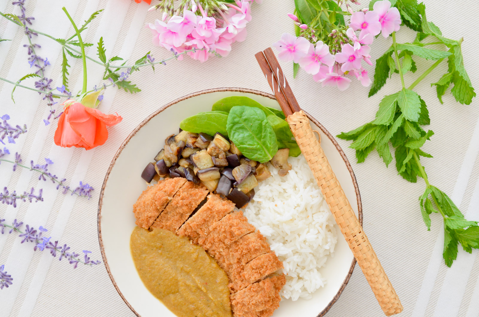 Katsu Curry végétarien