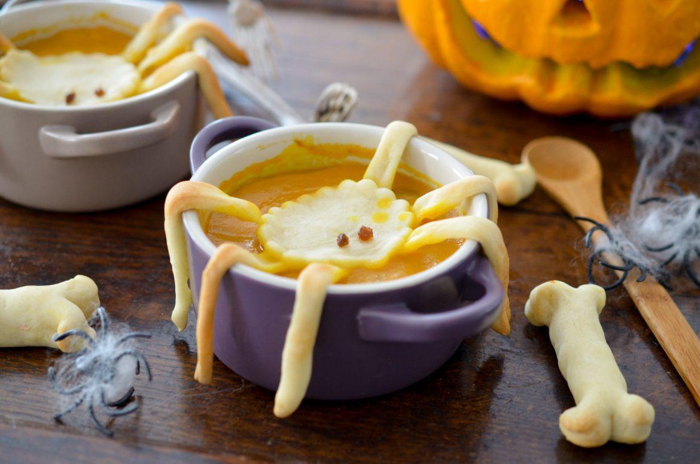 Soupe Halloween Butternut Araignee (1 Sur 10)