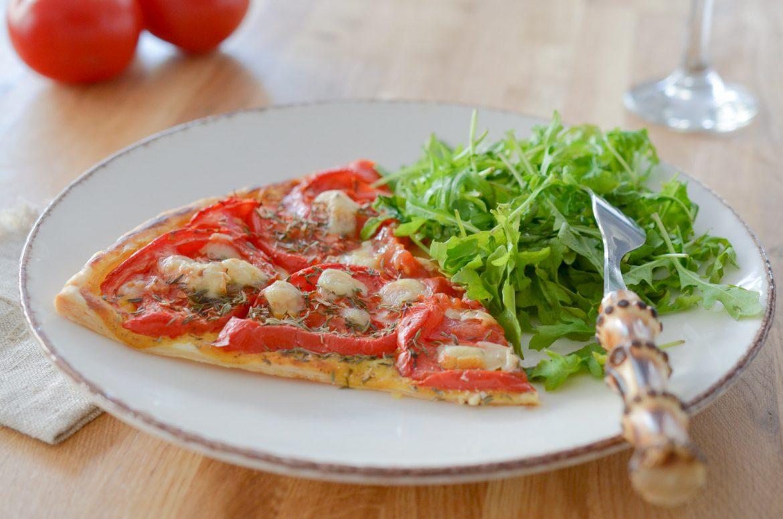 Tarte Fine Tomate Raclette Richemonts (1 Sur 3)