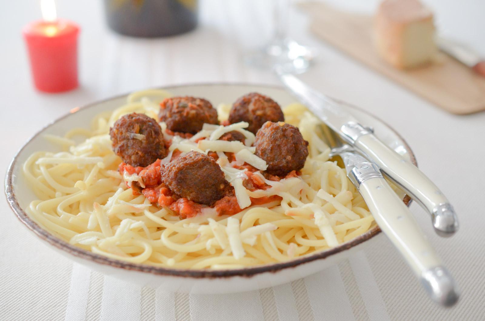 Les Spaghettis de la Belle et le Clochard