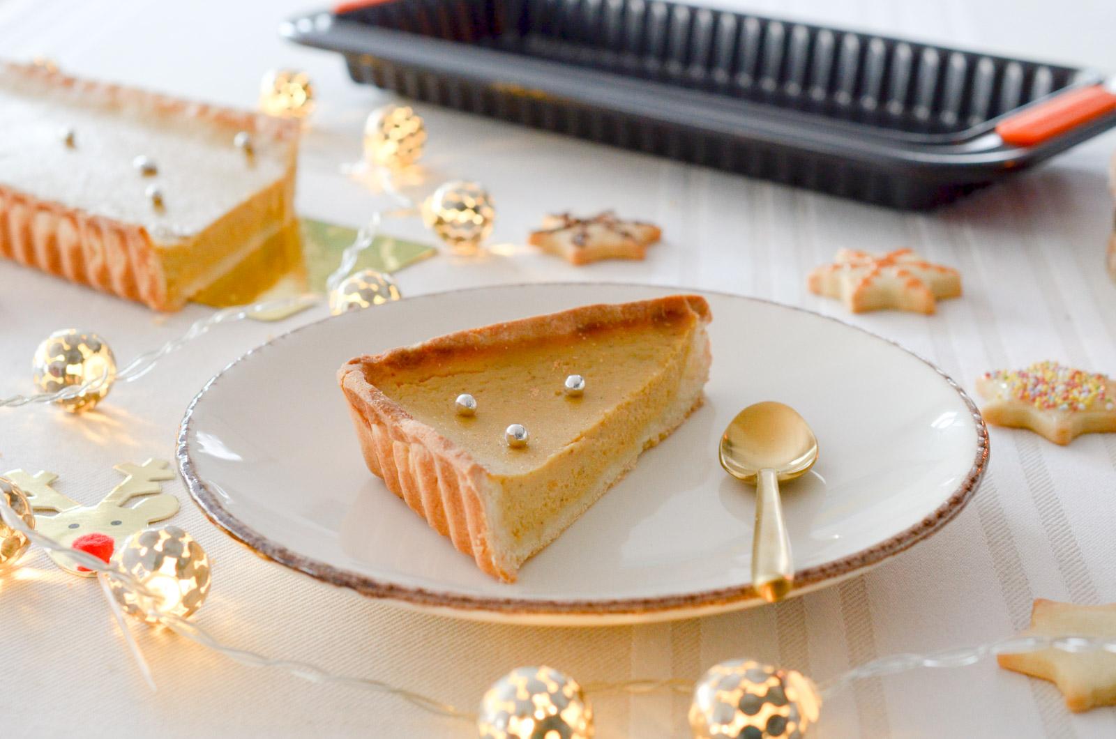 Pumpkin pie de Noël