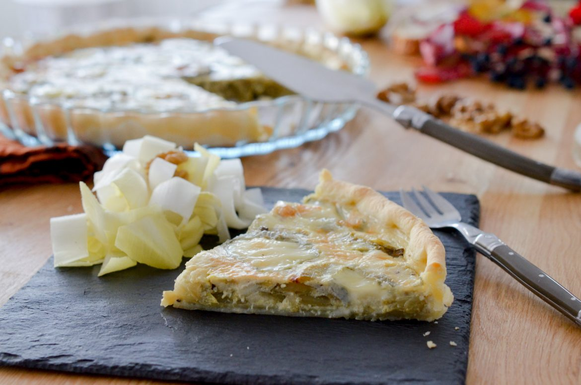 Quiche Chevre Endives Curry (7 Sur 12)