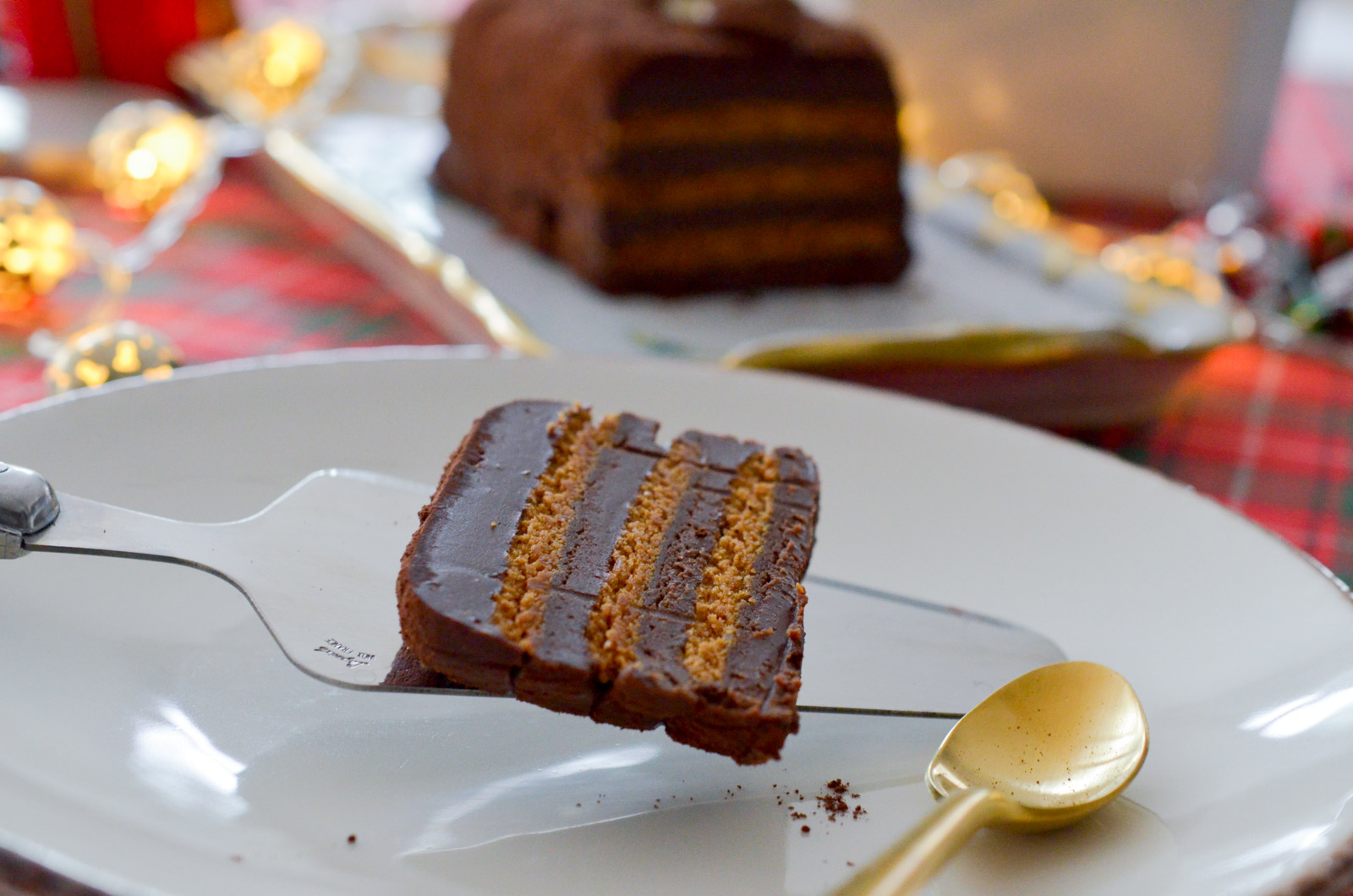 Terrine chocolat speculoos orange