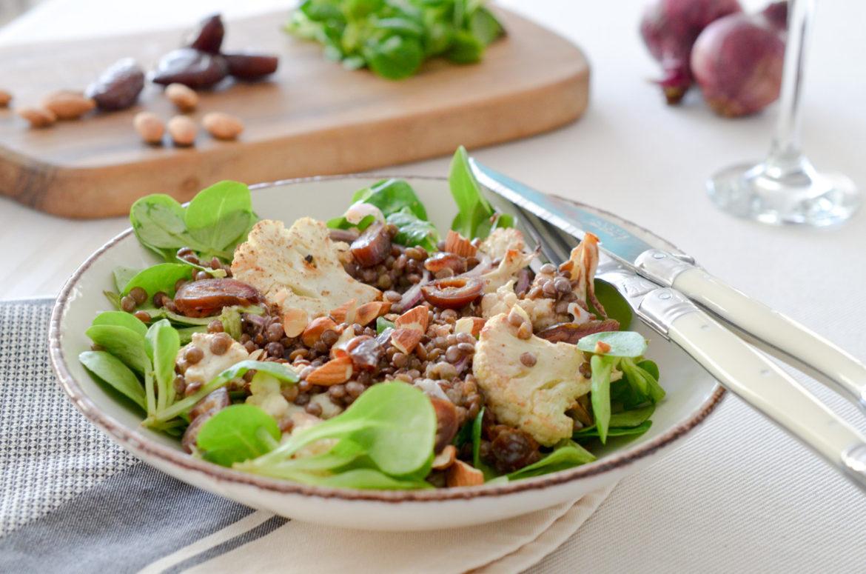 Salade Lentilles Choufleur Oriental (10 Sur 10)