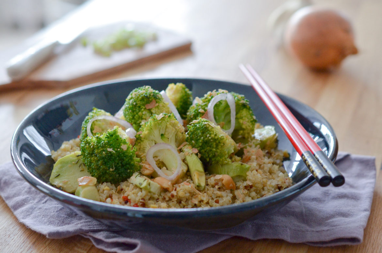 Brocoli Cacahuetes Quinoa (3 Sur 8)