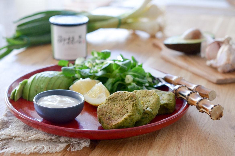 Matcha Falafel Salad (2 Sur 10)