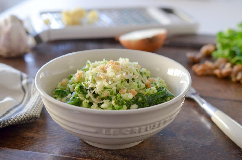 Risotto Pesto Kale (2 Sur 6)