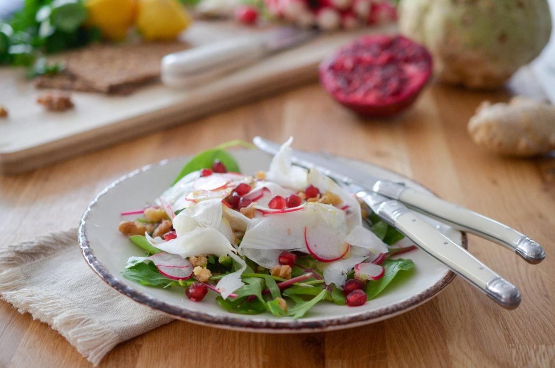 Salade Celeri Rave Gingembre Grenade (3 Sur 5)