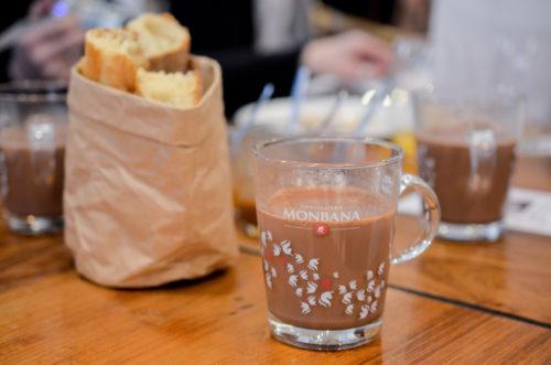 Vous venez déguster les chocolats chauds Monbana ?