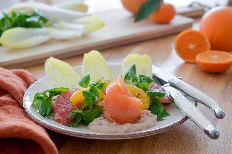 Salade Houmous Citron Agrumes (8 Sur 10)
