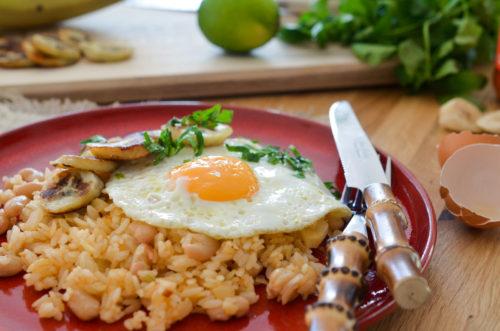 Tacu Tacu - riz frit à la banane