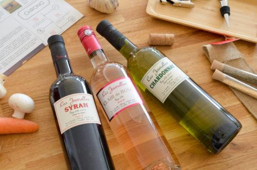#Concours - La cuisine et le Vin avec Les Jamelles