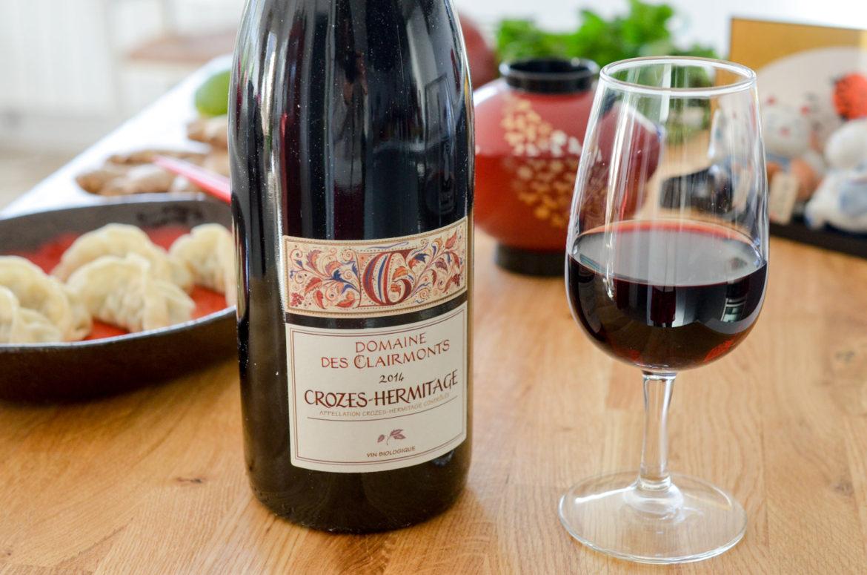 Vin Rouge Crozes Hermitage Clairmonts (1 Sur 3)