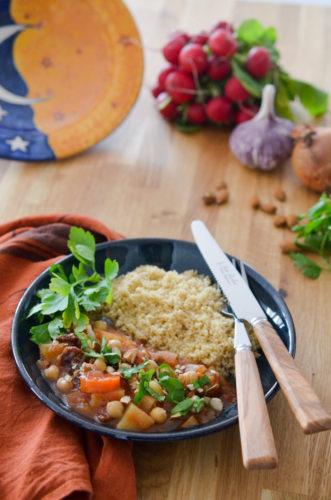 Couscous végétarien au micro onde spécial Coco Sweet