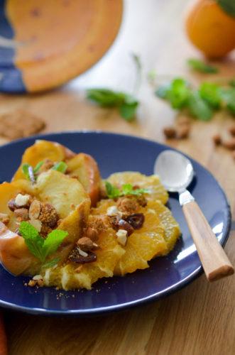 Fruits rôtis au micro onde spécial Coco Sweet